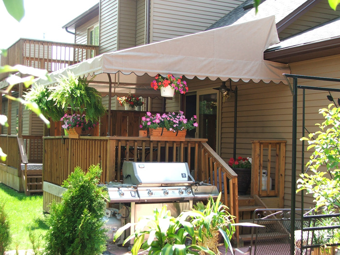 Residential Awning Gallery | Custom Covers & Canvas