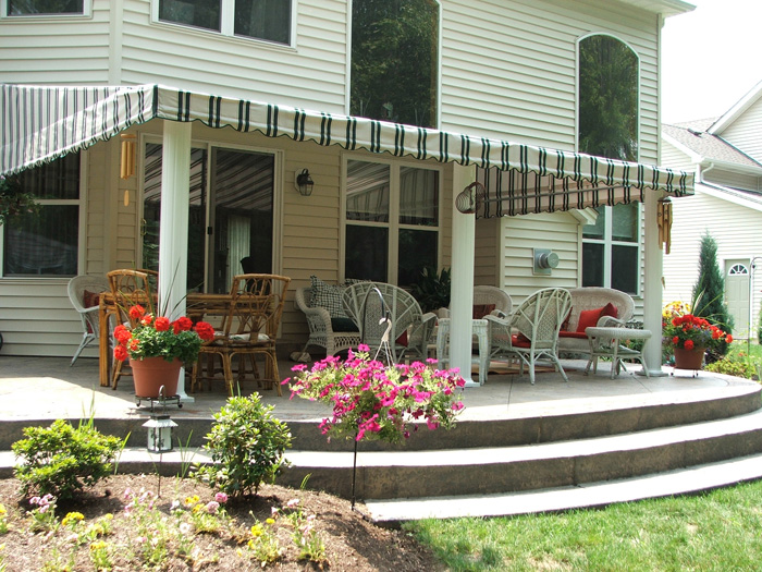 Deck Awnings | Custom Covers & Canvas | Deck Awnings ...