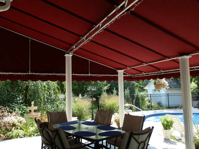 Residential Awning Gallery Custom Covers Amp Canvas