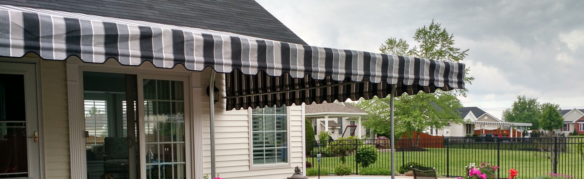 Custom Covers And Canvas Custom Made Patio Awnings Boat Covers